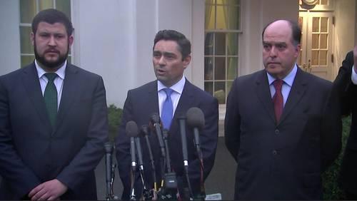Venezuela's US ambassador discusses needs in Houston