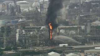 Fire breaks out at Houston-area Exxon Mobil refinery