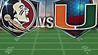Rivalry renewed: No. 17 Miami, Florida State set to clash on Local 10