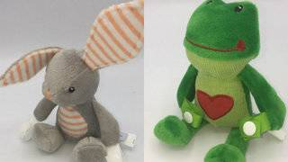 Nearly 600K pacifiers, teether holders recalled due to choking hazard