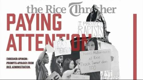 Claims of sexual assaults on Rice University campus spark campus policy change