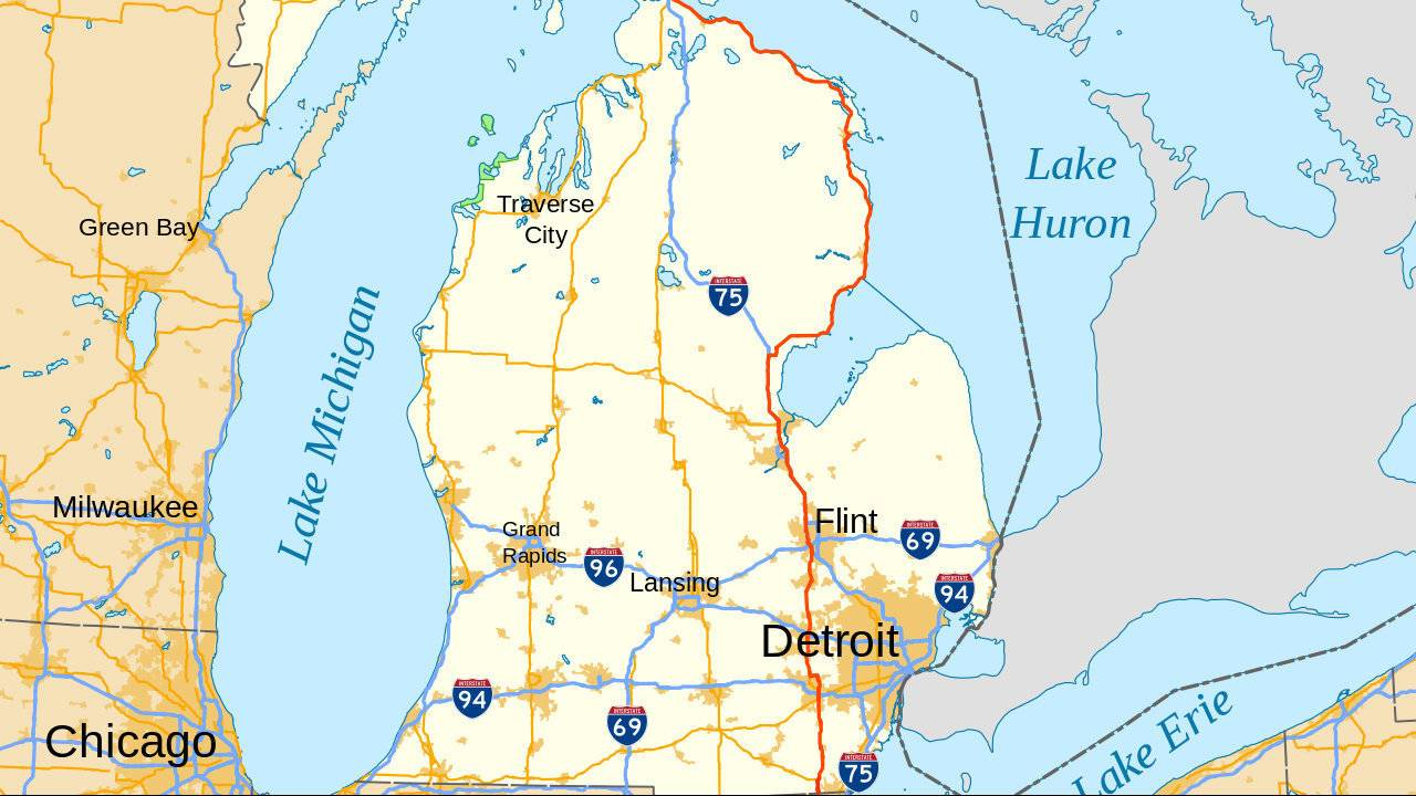 Bloomfield Michigan Map.10 Michigan Cities Make List Of 100 Safest Cities In America