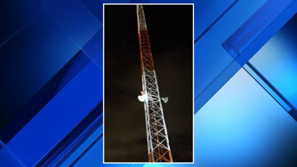 Independence Township suicide tower climb rescue 3