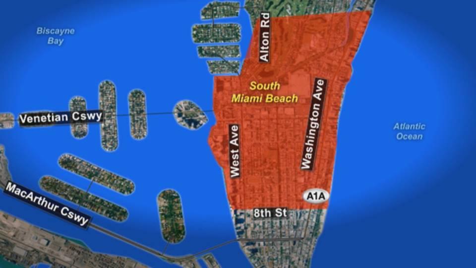 Zika Zone Miami Beach
