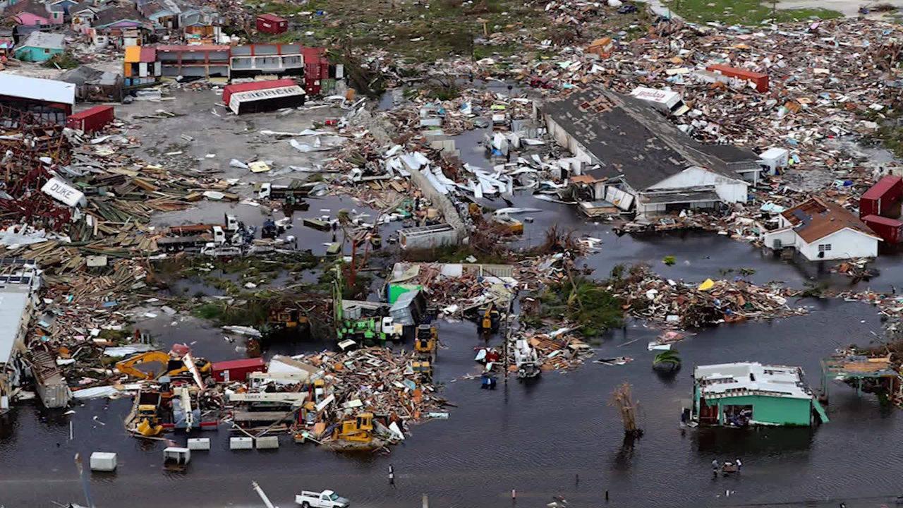 Hurricane Dorian Ravages The Bahamas