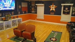 The Astros man cave you have to see to believe
