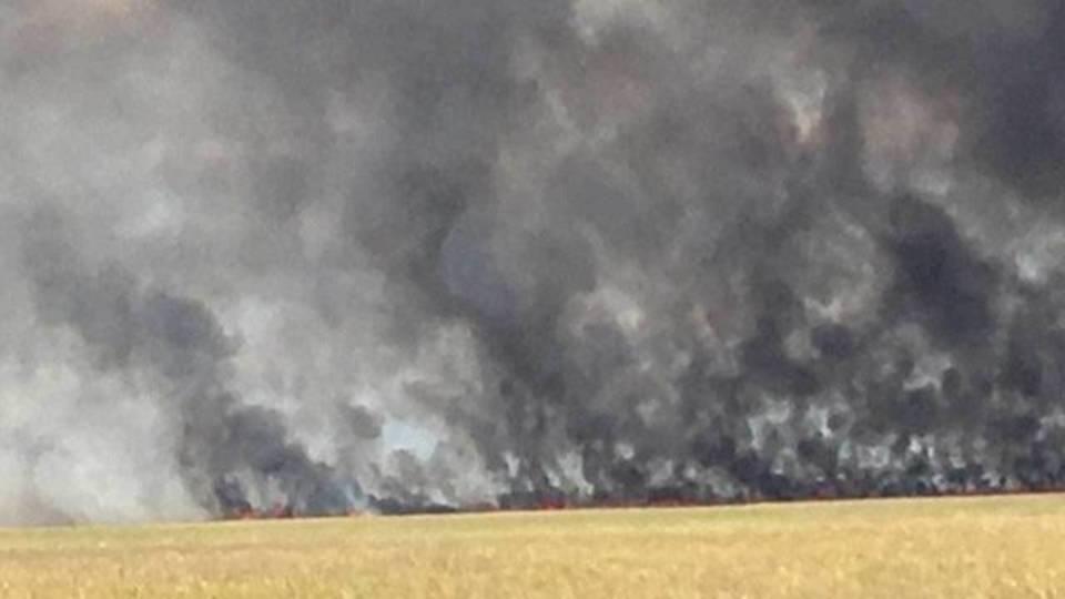 Florida Everglades wildfire