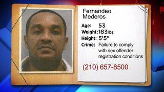 Sex offender with ties to North SA wanted for violating registration rules