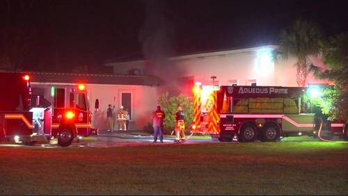 Fire damages garage at George Foreman's Huffman mansion