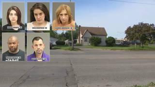 3 prostitutes, 2 others arrested at drug house in Warren,