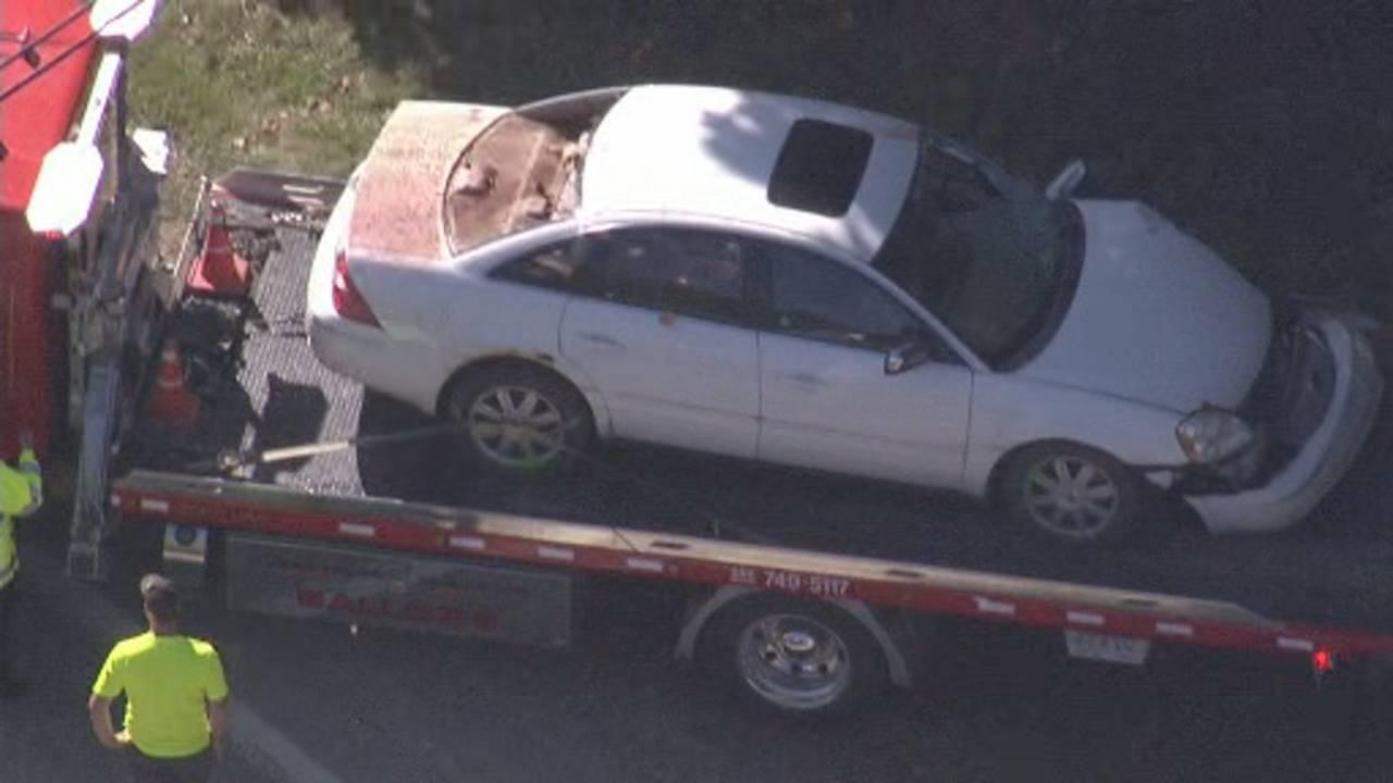 Macomb County dispatcher car fatal deer crash 2