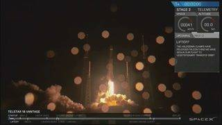 WATCH: SpaceX launches Falcon 9 rocket, lands booster