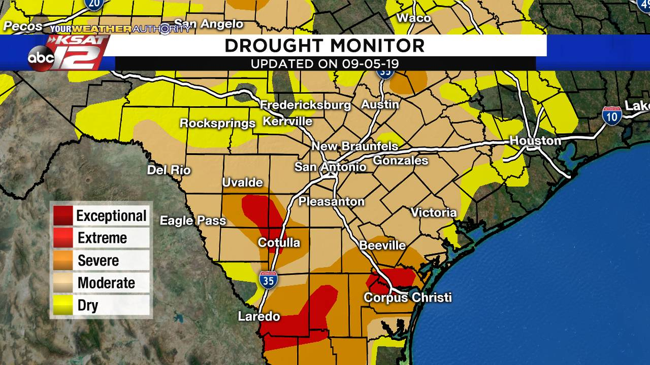 Drought Monitor 09-08-19