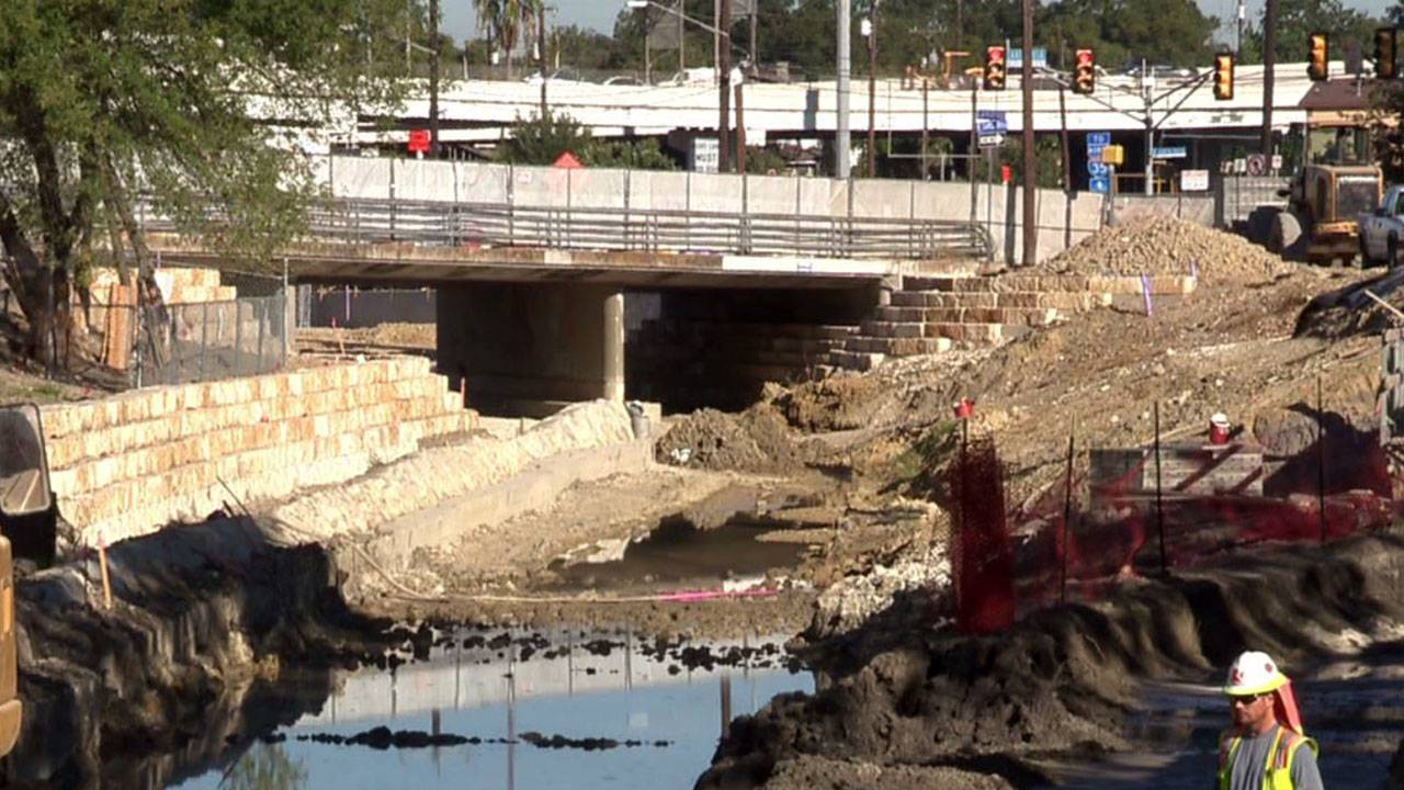 san pedro creek progress Oct 18 1