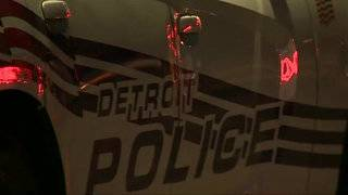 Woman shot while walking on sidewalk on Detroit's east side