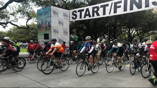 5,000 riders gear up for 14th annual Tour de Houston