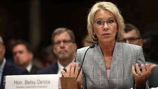 DeVos likely to face school shooting questions on Capitol Hill
