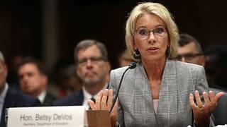 Democrats grill DeVos on school shooting response, transgender students