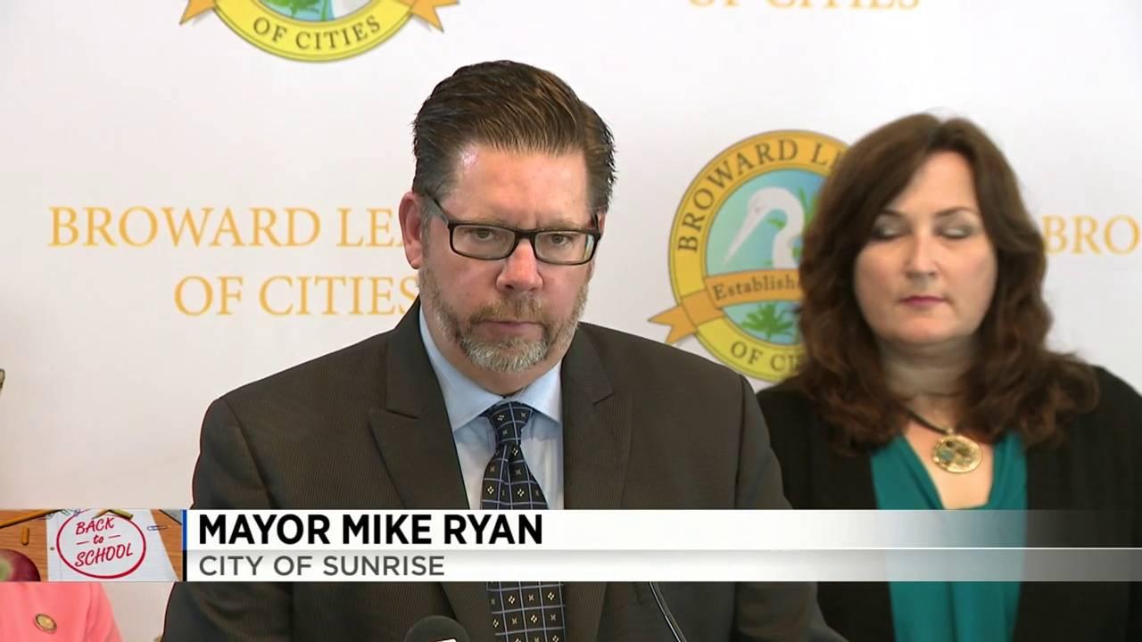 Sunrise Mayor Michael J.Ryan