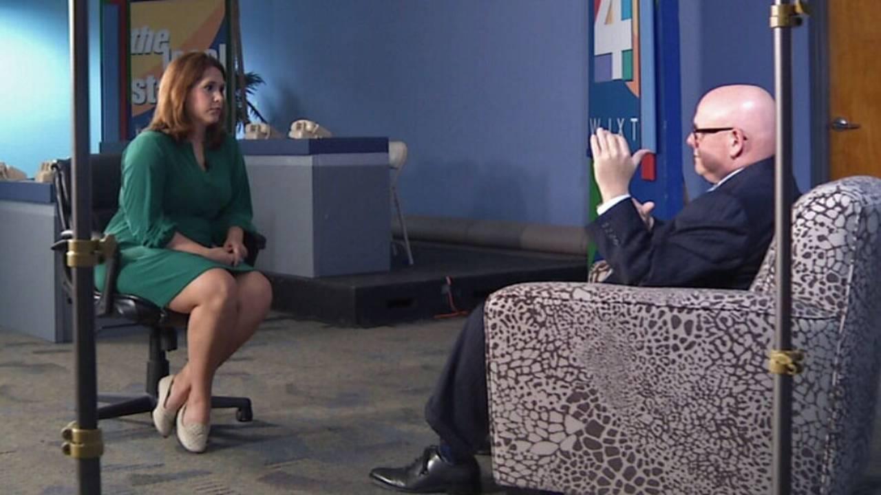 Lynnsey interviews John Melia