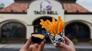 Nacho fries for free at local Taco Bell on Friday