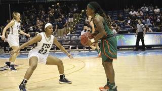 Hurricanes women's basketball team receives No. 4 seed