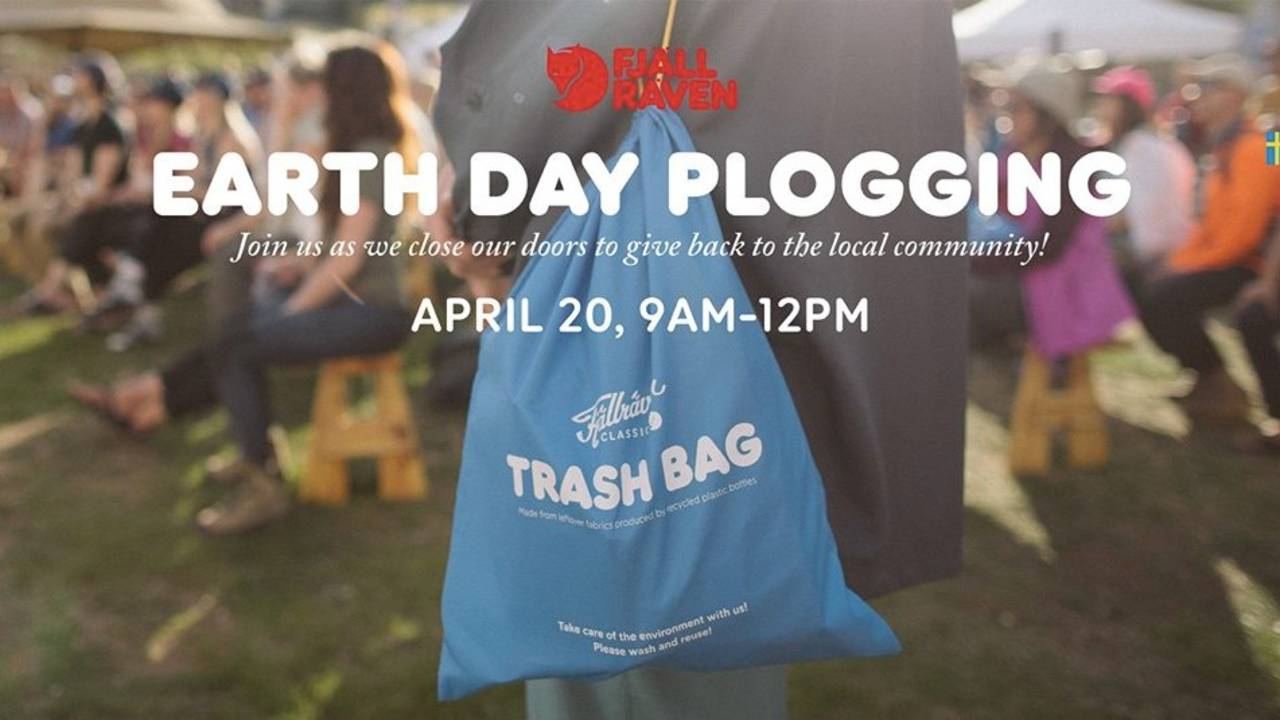 earth day plogging