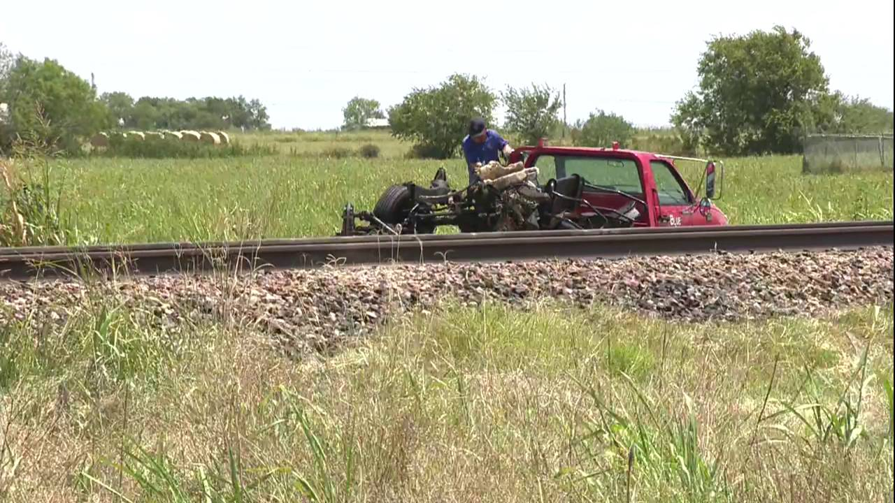 Pickup truck driver killed in crash with Amtrak train in