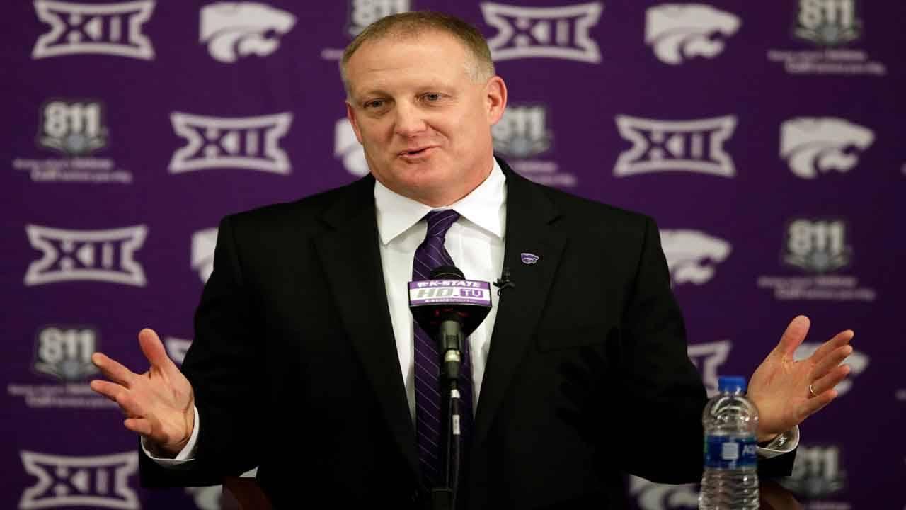 Kansas State Wildcats head coach Chris Klieman