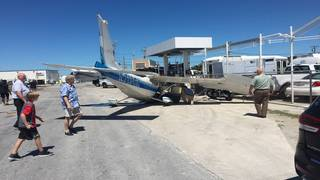 Small plane loses engine power, crashes at Key West International Airport