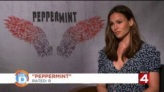 """Jennifer Garner talks to Live In The D about her new movie """"Peppermint"""""""