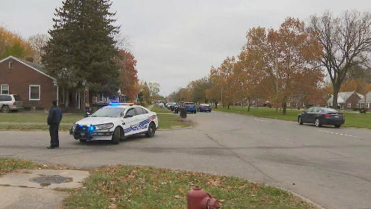 Barricaded situation Detroit's east side