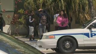 High school classmates mourn loss of Miami teen killed crossing the street
