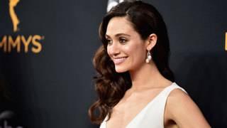 TV stars shine on Emmy Awards red carpet
