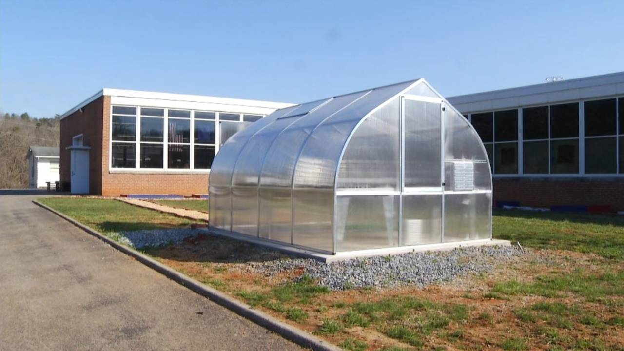 Central Academy Middle School greenhouse 2