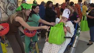 University Hospital brings Halloween fun to kids unable to leave hospital