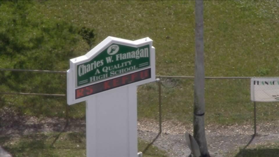 Charles W. Flanagan High School in Pembroke Pines