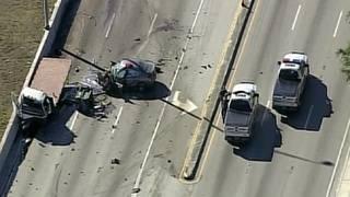Fatal crash shuts down Okeechobee Road at Red Road in Hialeah