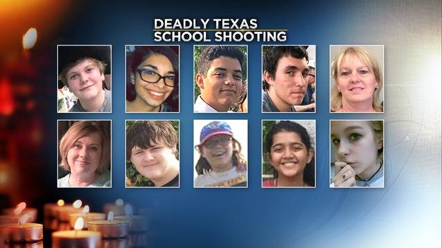 photos these are the victims of the santa fe high school