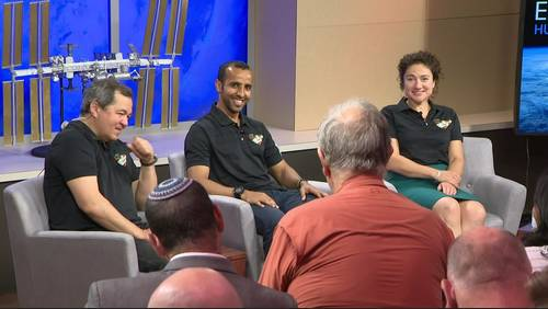 NASA astronaut, crew speak about ISS expeditions