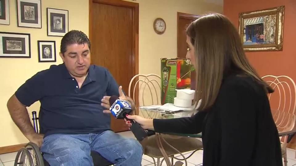 Renzo Barberi speaks to Amy Viteri