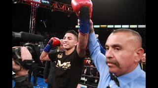 Barrios Impresses on Showtime