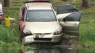 2 dead after car ends up in pond in Deerfield Beach