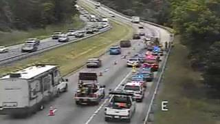 Crash causes delays on Interstate 81 in Botetourt County