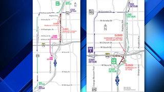 Both directions of I-4 near State Road 408 to close on upcoming nights