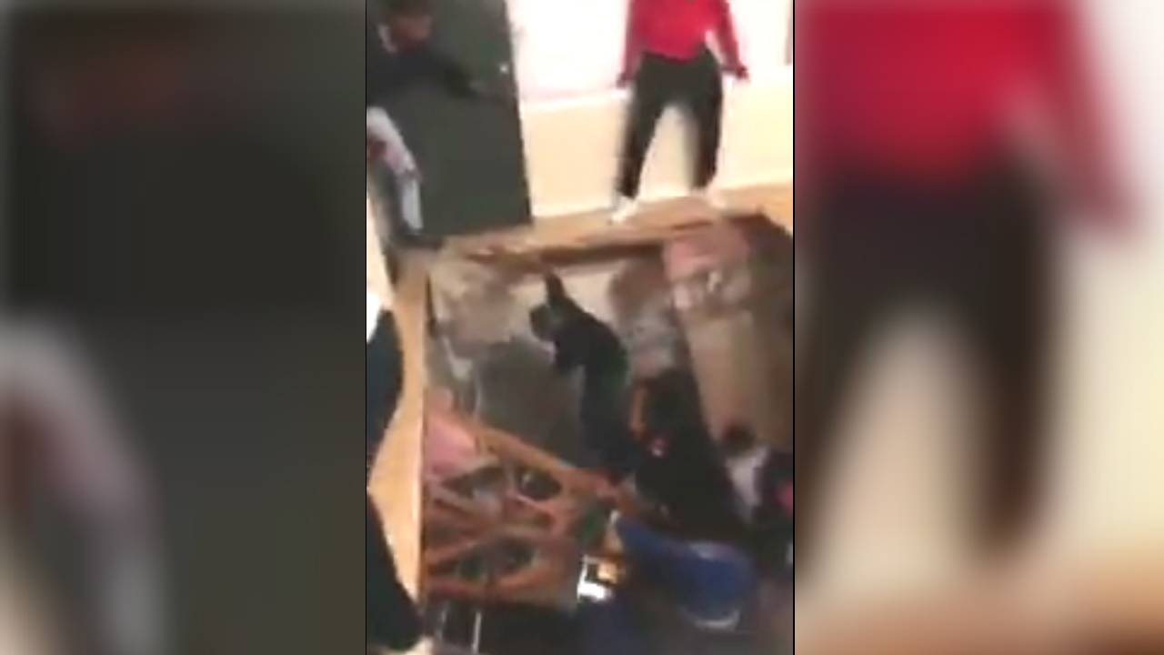 Video Floor Collapses During Packed Party At North Texas