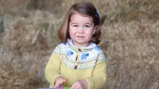 How Princess Charlotte, 2, just made royal history
