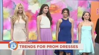 4 Style on Live in the D: Prom dress trends