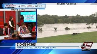 Call 210-351-1363 to donate towards the Texas Flood Relief Phone Bank