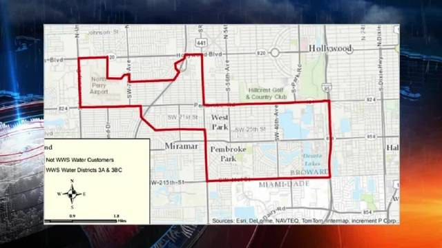 Broward boil water map